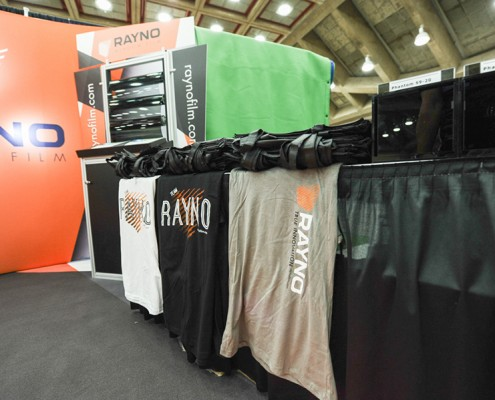 Rayno products on display at the 2015 International Window Film Conference