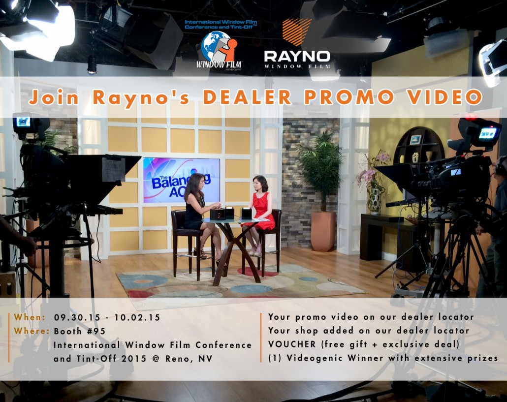 Rayno asks their dealers to join their promo video in this advertisement