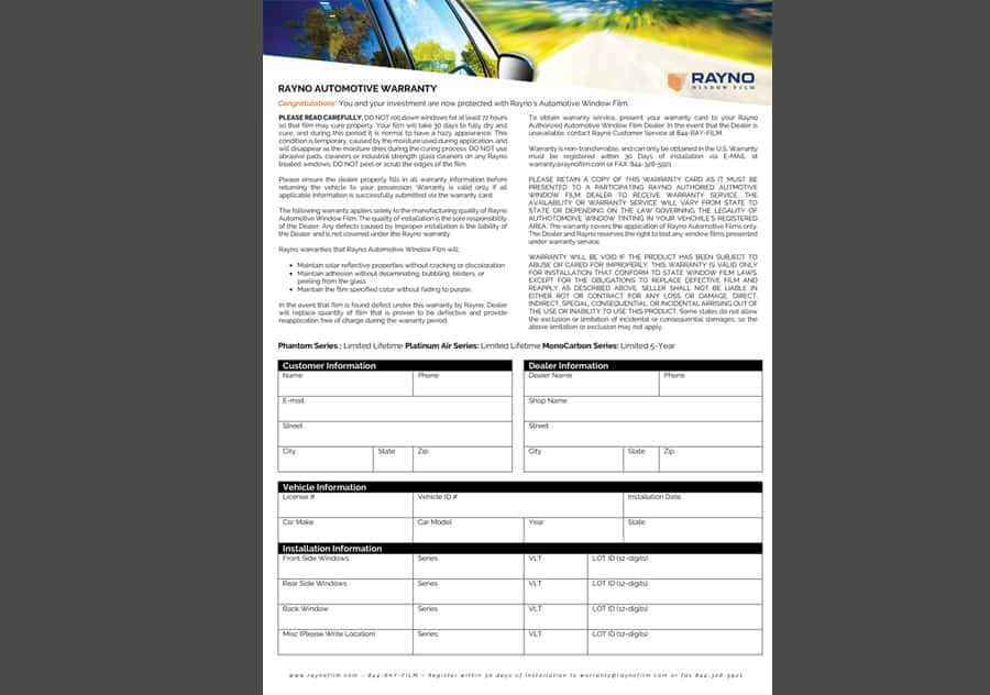 Materials Download Page Rayno Window Film