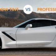 diy vs. professional window tinting