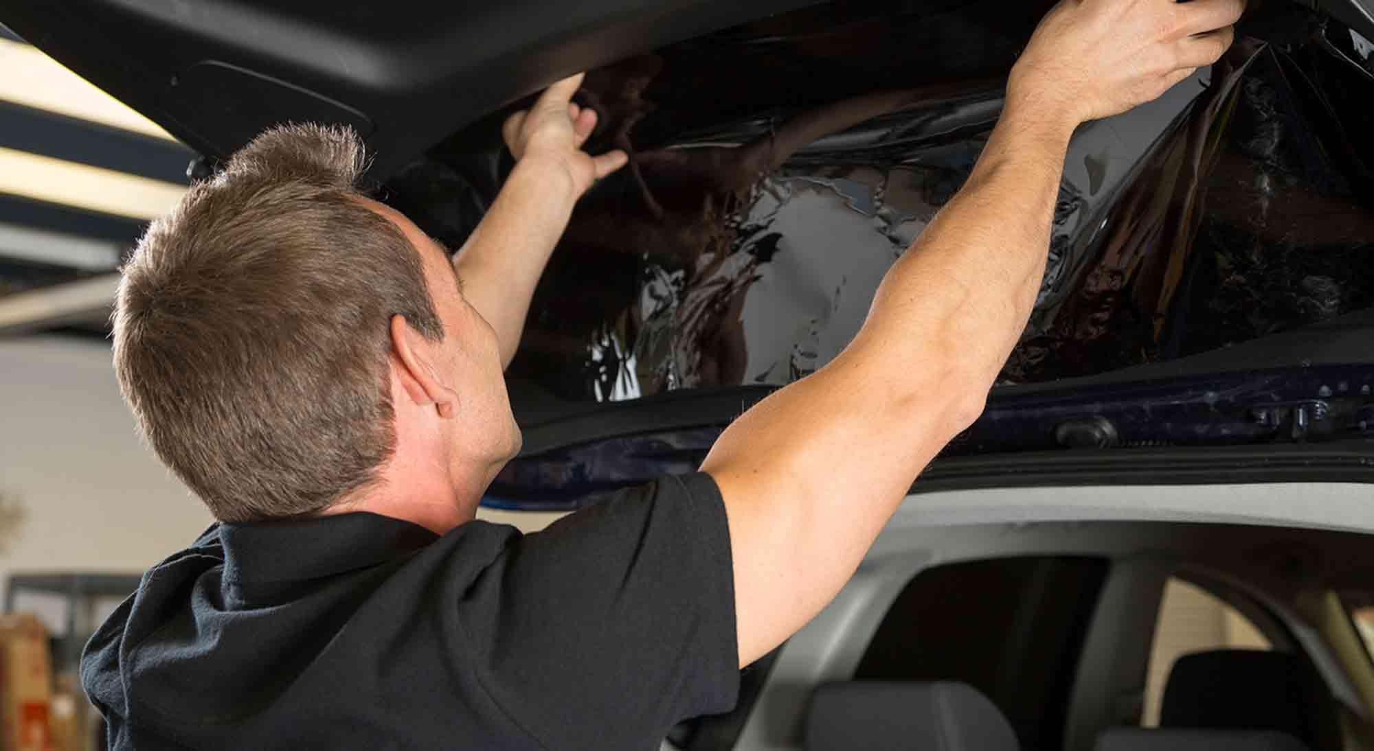 install rayno window film on cars